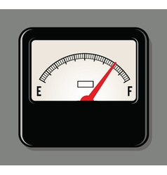 Analog electrical power meter vector