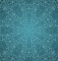 Abstract pattern in cyan vector