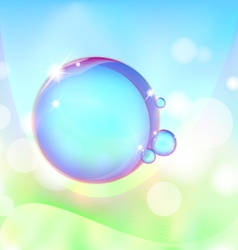 Bubble vector