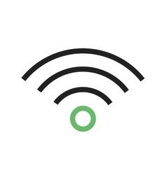 Wi-fi signals vector