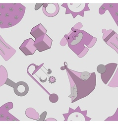 Childhood pattern vector