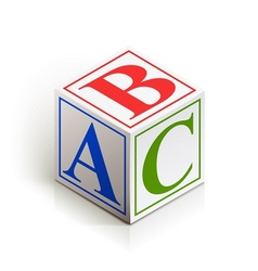 Brick abc vector