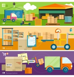 Delivery shipping concept vector