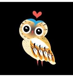 Little owl vector