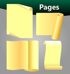 Pages vector