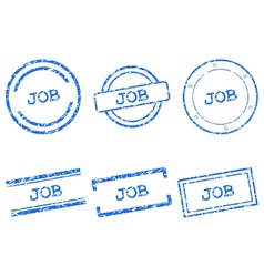 Job stamps vector