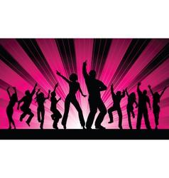 Funky dancers vector