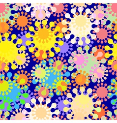 Seamless splat pattern vector
