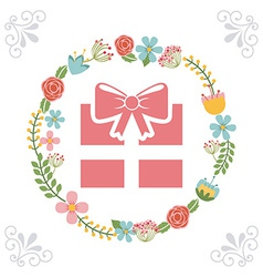 Beauty gift vector