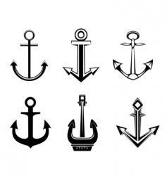 Set of anchor symbols vector