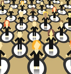 Social network scheme vector