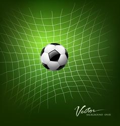 Soccer goal vector