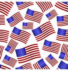 Usa national flag celebration seamless pattern vector