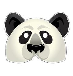 Mask panda vector