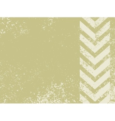 Grungy worn hazard stripes vector