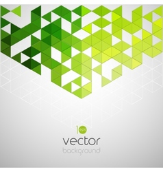 Abstract geometric background with color triangle vector