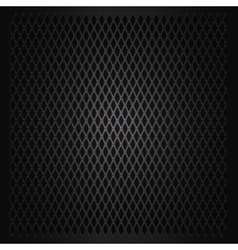 Abstract metal grid background vector