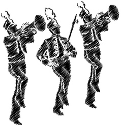 Marching band vector