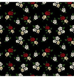 Abstract elegance seamless floral pattern vector