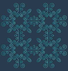Intricate shapes vector