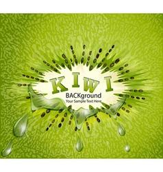 Kiwi background vector