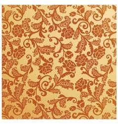 Antique seamless floral pattern vintage vector
