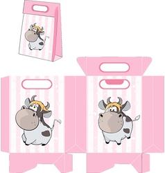 Handbag packages pattern vector