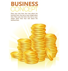 Success in business vector