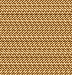 Seamless brown rope texture vector
