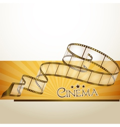 Cinema banner vector
