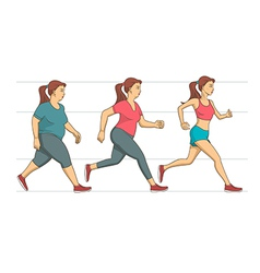 Body weight loss vector