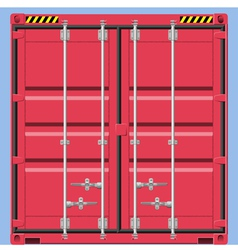 Freight container vector