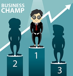 Business champ vector