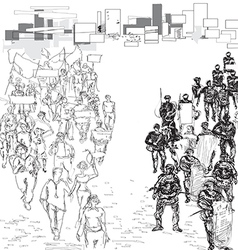 Protestvs vector