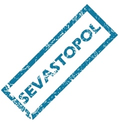 Sevastopol rubber stamp vector