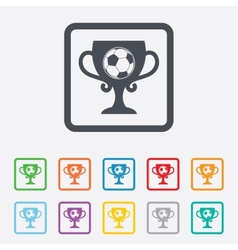 Football ball sign icon soccer sport symbol vector