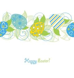 Easter seamless vector