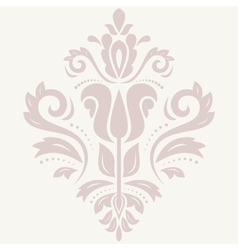 Damask orient pattern vector