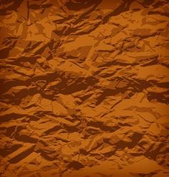 Crumpled paper vector