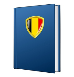 Constitution of belgium vector