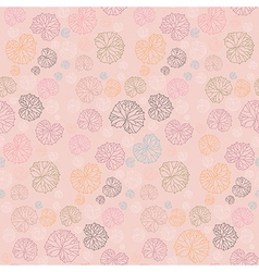 Abstract burdock retro seamless background vector