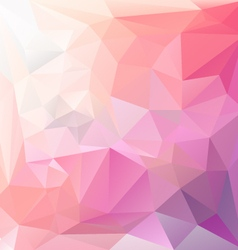 Ice pink violet polygonal triangular pattern vector