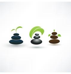 Spa concept icons vector