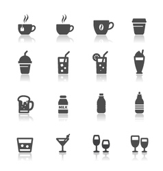 Drink and beverages vector