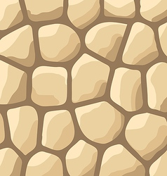 Texture of stones stone wall background vector