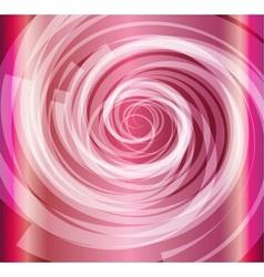Pink color spiral background vector