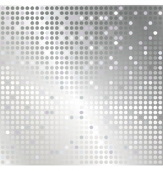 Silver mosaic abstract background vector