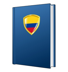 Constitution of colombia vector