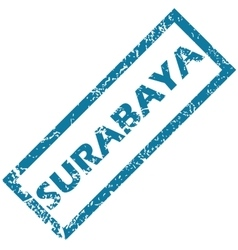 Surabaya rubber stamp vector