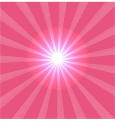 Pink background with lens flare vector